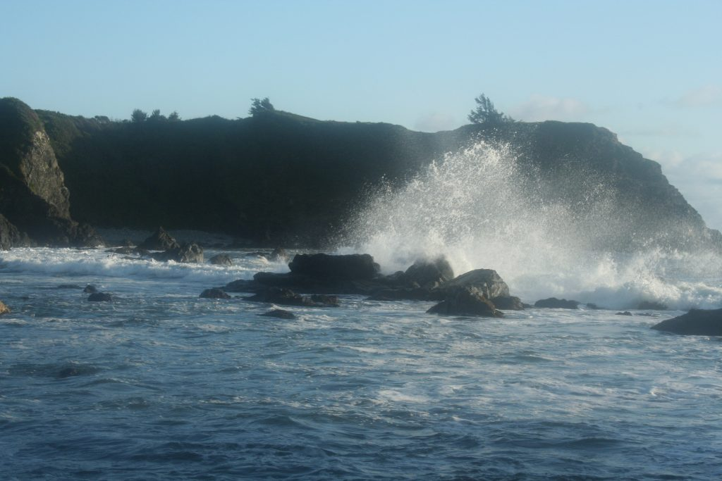 Brookings , Oregon Big Splash